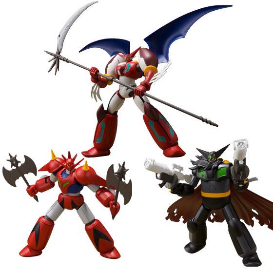 Super Mini-Pla Shin (Change!!) Getter Robo Vol.2 3Pack BOX